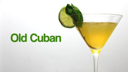 How to Make a Old Cuban Cocktail