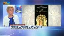 Hélène Carrère d'Encausse dans L'invitée d'Hedwige Chevrillon - 3 juin