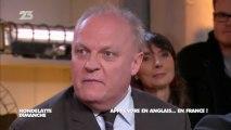 François Asselineau débat sur la loi Fioraso dans Hondelatte
