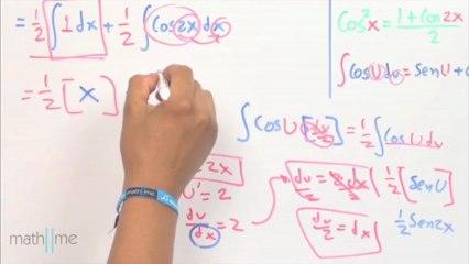 Integral de (CosU)^2