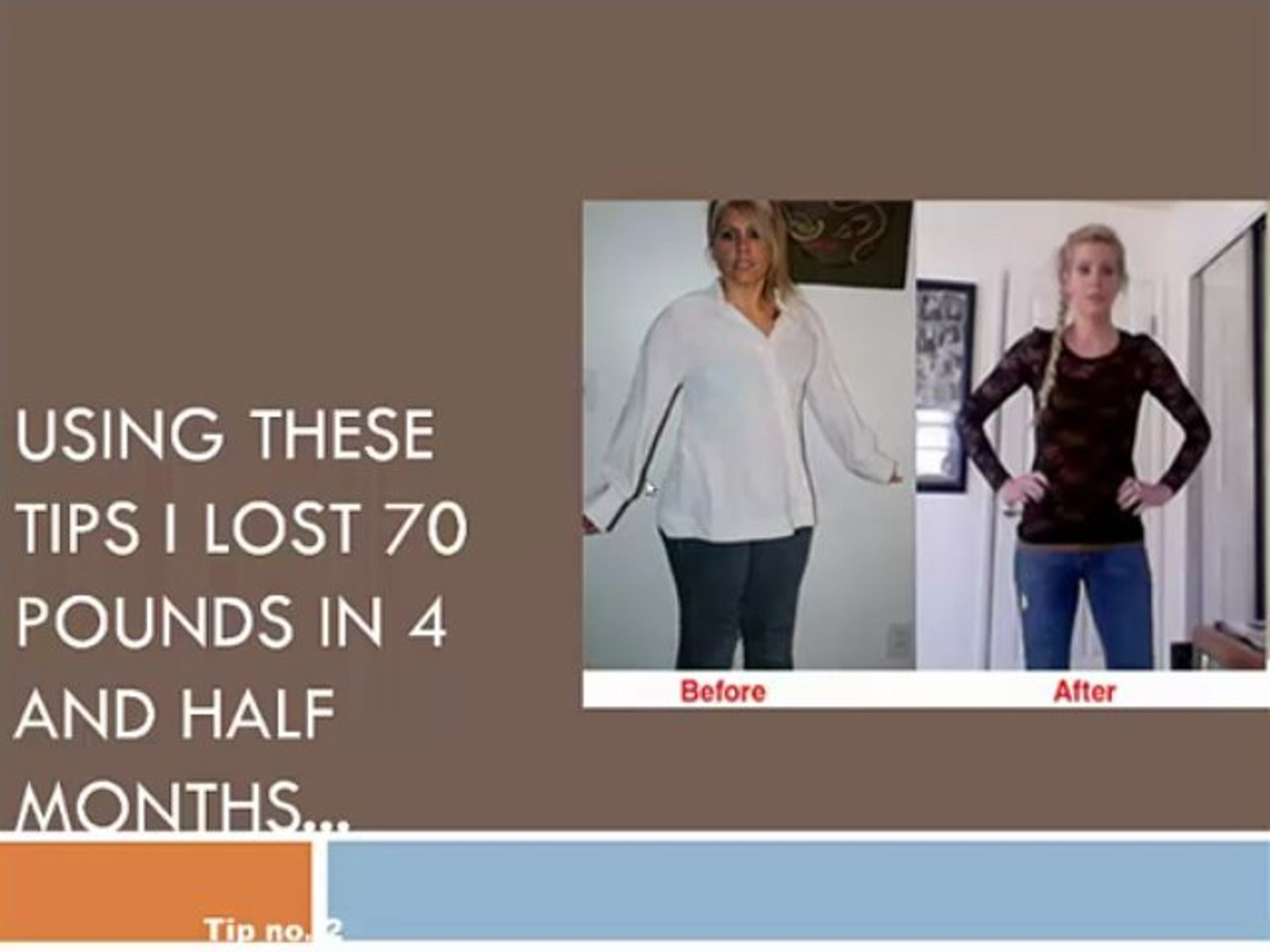 How to lose 70 pounds tip 2 just create a daily routine