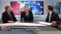 RDI Économie - Entrevue avec Jean Charest et Simon Potter.