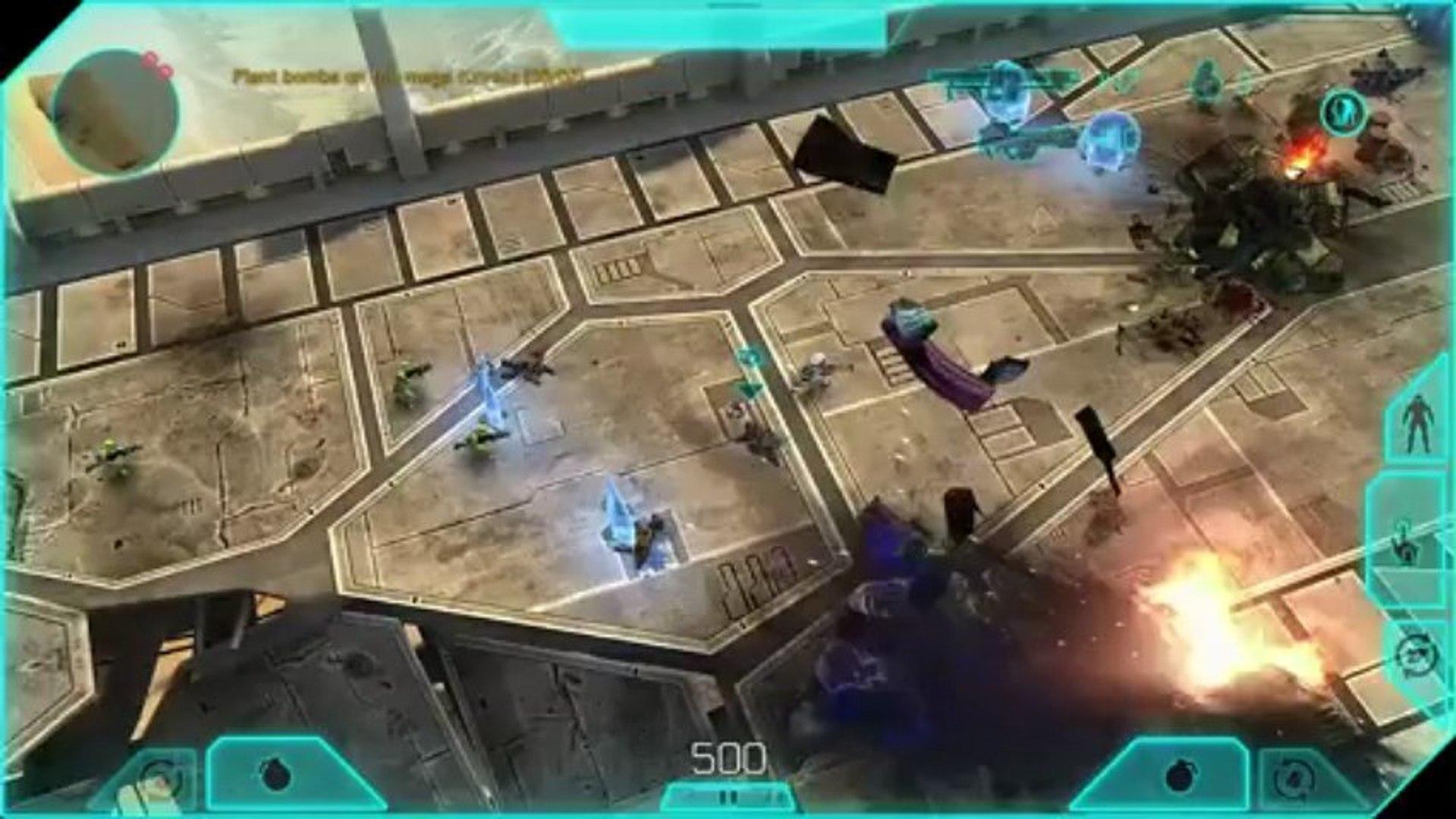 Halo Spartan Assault - Une mission dans Halo Spartan Assault
