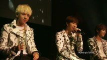B1A4 Japan Showcase 2 Boys to Men 2012 - Wonderful Tonight (Unplugged)