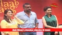 Jiah Khan's demise shocks B-town