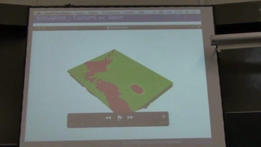 Simulations numériques pour les écoulements géophysiques : tsunamis, inondations, avalanches..., par Emmanuel Audusse