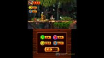 Soluce Donkey Kong Country Returns 3D : 5-5 Flore à Ressorts
