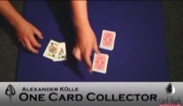 One Card Collector by Alexander Kolle and Card-Shark - Magic Trick