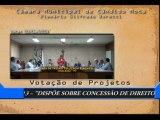 Data: 03/06/2013 - Sessão da Câmara de Cândido Mota - Votação de Projetos na Ordem do dia