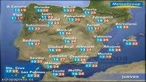 Previsión del tiempo para este jueves 6 de junio