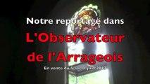 Mont-Saint-Eloi : Reénovation des vitraux de l'église