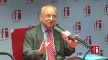 François Loncle, député PS de l'Eure, membre de la Commission des Affaires étrangères de l'Assemblée nationale, missionné dans le cadre du groupe de travail sur la situation au Sahel