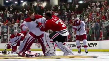 Enforcer Engine Gameplay Trailer de NHL 14