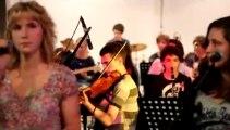Concert 4 eme de la classe jazz de Monségur  avec les jeunes musiciens serbes du conservatoire de Niš