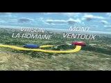 The 2013 route in 3D / Le parcours du Tour 2013 en 3D