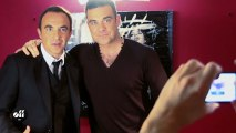 DAY OFF - Robbie Williams in Paris for a long day!