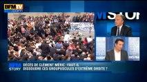 BFM STORY: Décès de Clément Méric, le Front National dément tout lien avec les agresseurs présumés - 06/06