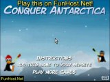 Jeu Conquer Antarctica - jeu de combat amusant ! Jeu à FunHost.Net/conquerantarctica