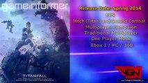 TitanFall: Leaked EA / Respawn Details - Xbox One / PC / 360