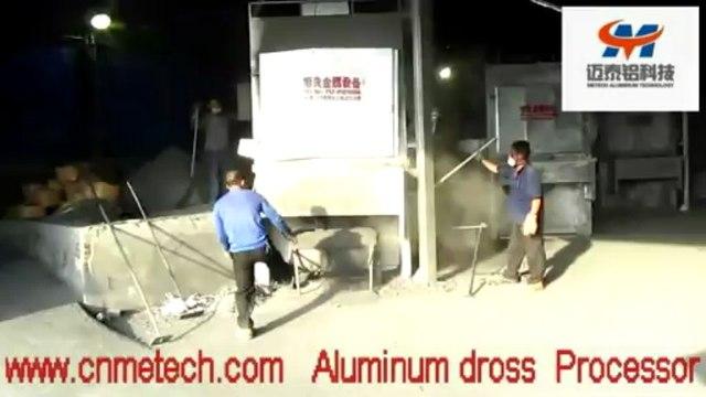 metal recycling equipment :aluminium dross processing machines-machine tools for aluminium recycling