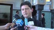 M. Benkirane reçoit le ministres des Affaires étrangères Roumain