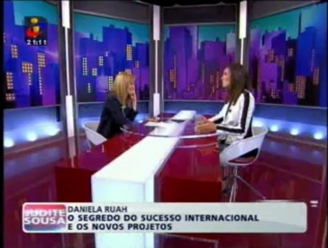 Judite de Sousa entrevista Daniela Ruah