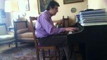De l'autre côté de la rue - Edith Piaf - Piano