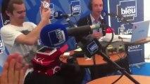Amaury Vassili sur France Bleu Lorraine - Anniversaire d'Amaury Vassili - Etoile de Baccarat - Frédéric Bélot © Radio France