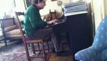 La petite fugue - Maxime Le Forestier - Piano