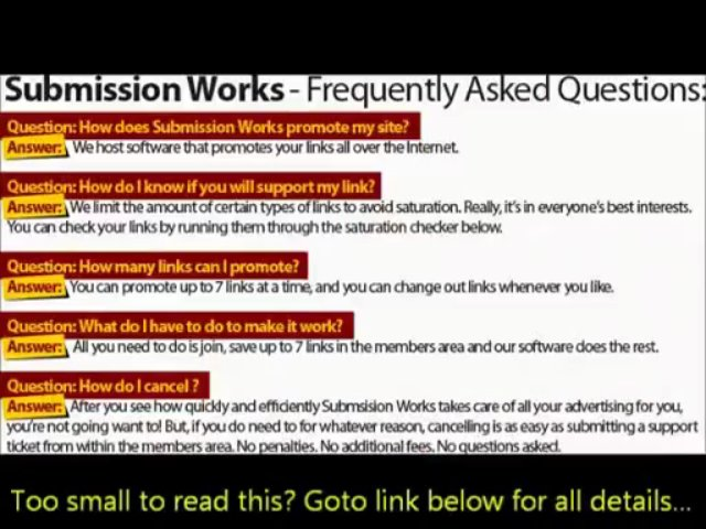 targeted traffic exchange  | SubmissionWorksWorks Review