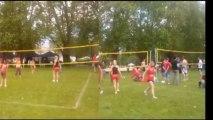 Tournoi de volley 3X3 du Grenoble Volley Université Club