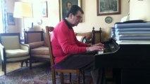 L'amour est un bouquet de violettes - Francis Lopez - Luis Mariano - Piano