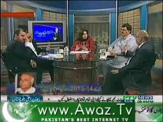 Tajzia Huma Baqai k Sath on PTV News – 9th June 2013