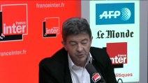 """Jean-Luc Mélenchon: """"la mode stupide de renvoyer dos à dos les deux extrêmes"""""""