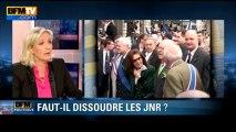 """Marine Le Pen sur Serge Ayoub: """"pas grand-chose à se dire et rien à faire ensemble"""" - 09/06"""
