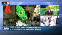 """Coupe du monde de football au Brésil: pour Boniface, """"le jour J, le pays sera prêt"""" - 09/06"""