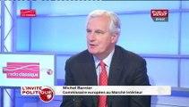 """Michel Barnier : """"c'est tellement facile de dire « la faute à Bruxelles » quand il s'agit des retraites (...) Ce n'est pas Bruxelles qui est responsable de tout ça, ce sont nos propres décisions depuis 30 ans"""""""