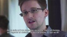 """Snowden : """"Même si vous ne faites rien de mal, vous êtes observés"""""""