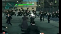 The Matrix Path Of Neo Xbox Gameplay Neo Vs Lots Of Agent Smiths