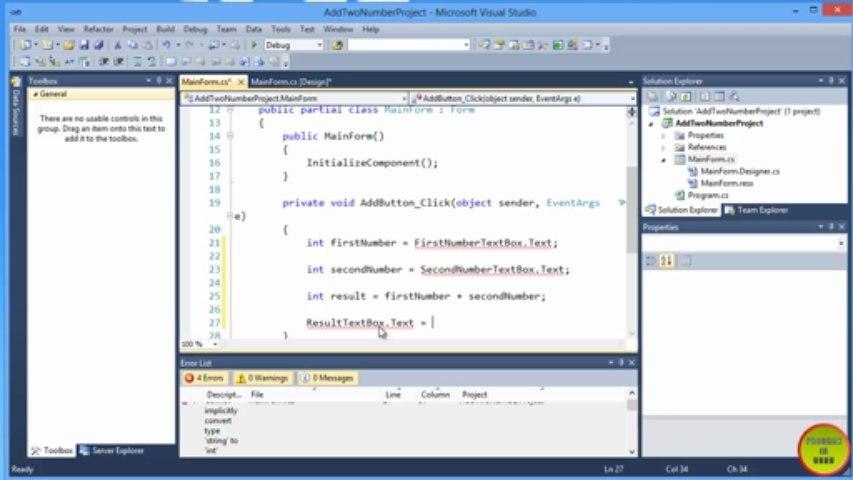 C# Datatypes and Arithmatic Operators In Urdu