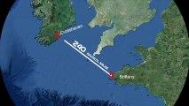 Bruno Sroka France-Ireland kitesurf crossing teaser 2013