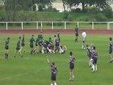 Suresnes - Stade Francais 1ere mi-temps Finales IDF 2013 minimes rugby A2