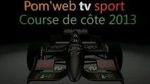 Pom Web TV sport - Course de Côte 2013