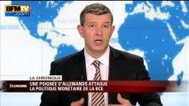 Chronique éco de Nicolas Doze: la politique monétaire de la BCE contestés par une poignée d'Allemands- 11/06
