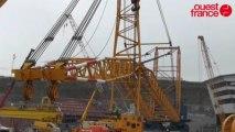 EPR de Flamanville : le réacteur attend son dôme et sa cuve