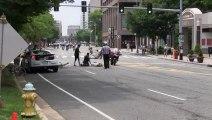 Crystal City : Accident durant la course de vélo