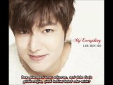 Lee Min Ho - My Little Princess (Turkish Subtitle)