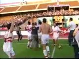 فرحة لاعبي الزمالك بالدوري 2003 بعد فوز انبي