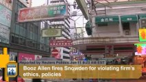 Reuters Politics Headlines - American Civil Liberties Union, Mark Martins, Edward Snowden, Booz Allen, Pat Quinn