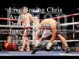 Chris Avalos vs Drian Francisco Live Fight